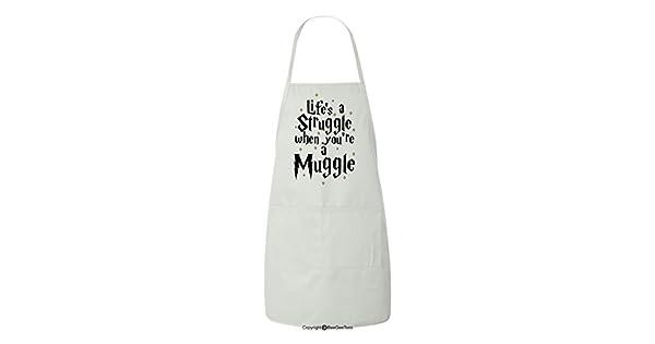 Amazon.com: De la vida una Lucha cuando eres un Muggle Funny ...