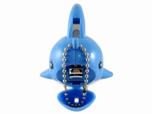 Gosear Cute Dolphin Key Chain Finger Nail Clipper Cutter Trimmer Manicure