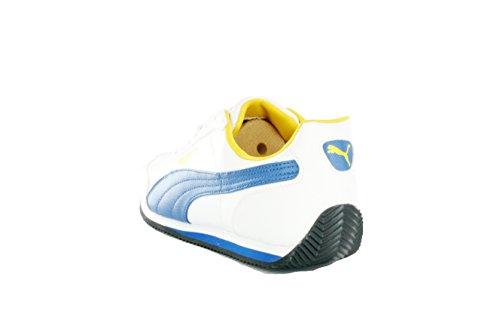 Puma Rio Racer S/L Deporte Cuero Deportivas Zapatillas Hombre Zapatos Blanco
