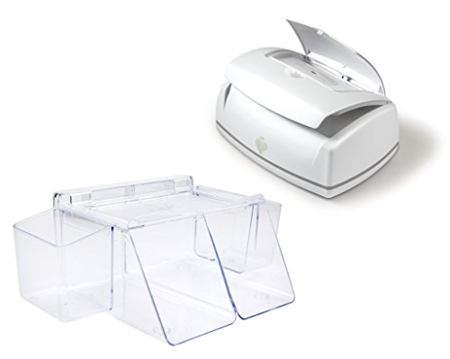 Prince Lionheart Premium Wipe Warmer with Dresser Top Diaper Organizer