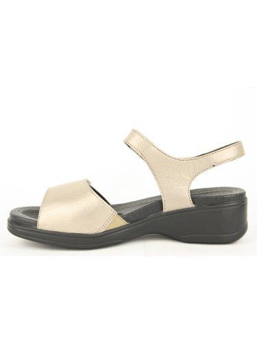 Sandalias y chanclas para mujer, color Metálico , marca STONEFLY, modelo Sandalias Y Chanclas Para Mujer STONEFLY AQUA II 7 Metálico Platino