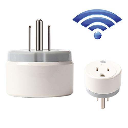 WiFi Smart Home Plug, Wireless American Plug Estándar WiFi Series, App Switch Power Remote Control para Alexa Echo Y La Página Principal De Google
