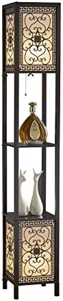 Artiva USA A808102DEX Infinity Heart Shelf Floor Lamp