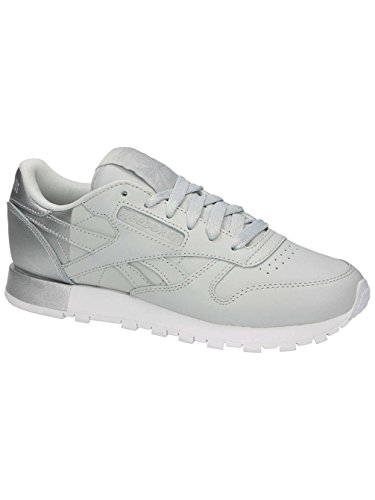 Reebok Classic Leather Matte Shine Mujer Zapatillas Gris Gris