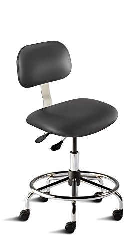 BioFit Engineered Products BTS-M-RC-C-AV126 Bridgeport Series Medium Bench Height Chair with Steel Base