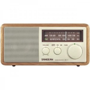 Sangean WR-11 Tabletop FM/AM Analog Wooden Cabinet for sale  Delivered anywhere in USA