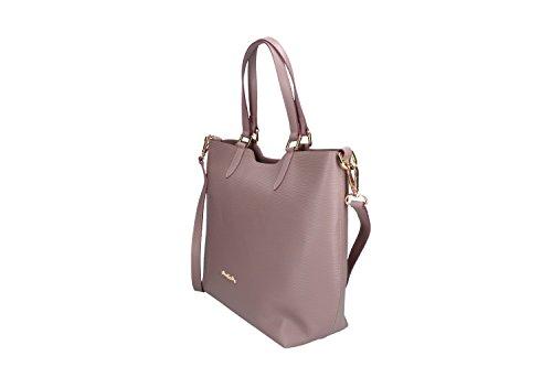 45bff905b3e18 ... Tasche damen mit schultergurt PIERRE CARDIN pink leder Made in Italy  VN195 ...
