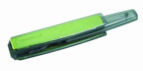 Casabella i Clean 1 Count Microfiber Screen and Detail Cleaner, Green/Grey Casabella Microfiber Screen Cloth