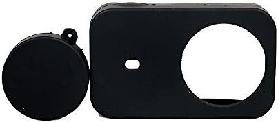 Kingwon 5 en 1 bolsa con accesorios Kit para Xiaomi mijia Mini 4 K Cámara de acción: Carcasa Impermeable+marco frontera montaje funda + suave de ...