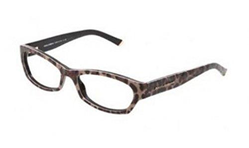 Gabbana Leopard - Dolce & Gabbana DG3115 Eyeglasses-1995 Leopard-51mm