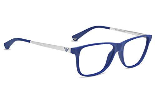 Emporio Armani EA3025 Eyeglasses-5194 Matte Electric Blue ...