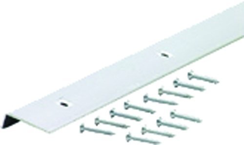 Polished M-D Building Products 67371 Edging A811 96-Inch Aluminum Moulding