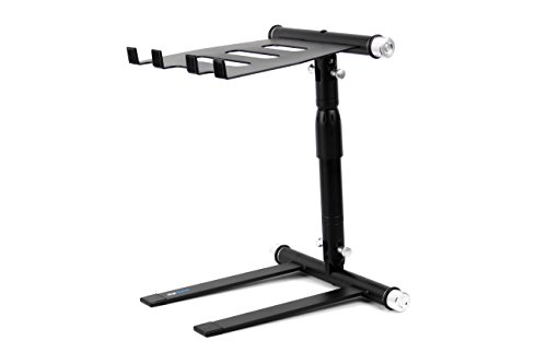 Digistand LP01 Folding DJ Laptop Stand with Quick Release Latches