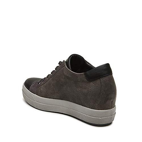 amp;co Donna Sneaker Igi Antracite Pelle dxSAYEwp