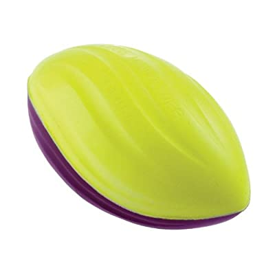 POOF Mini Power Spiral Football, 5.5 Inch, Colors May Vary Kids Foam Football: Toys & Games