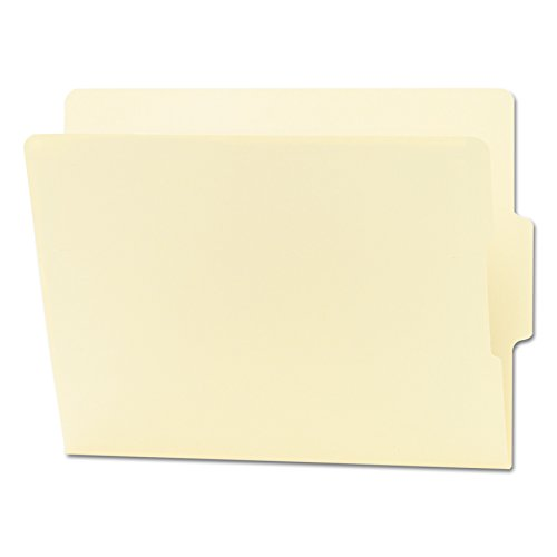 Smead End Tab File Folder, Shelf-Master Reinforced 1/3-Cut Tab Center Position, Letter Size, Manila, 100 per Box (24136)