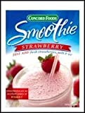 Strawberry Smoothie Mix / Concord Foods /2 oz (Pack of 12)