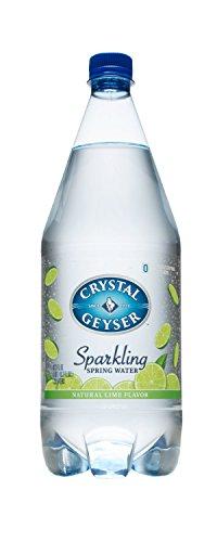 Crystal Geyser Sparkling Spring Water, Lime, 1.25 Liter (...