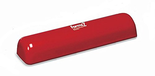 Tumble Forms Half Roll, Red, 6''W x 4-1/2''H x 24''L by Tumble Forms2