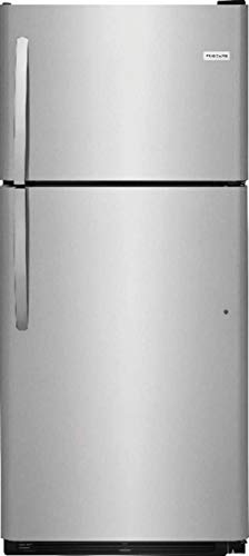 Frigidaire Stainless Steel Top Freezer Refrigerator ()