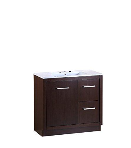 Bellaterra Home Single Sink Vanity, 36