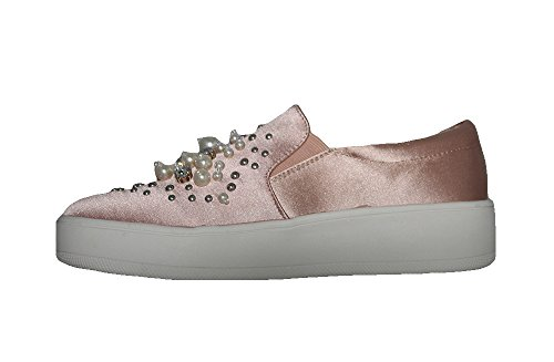 Soda IF13 Womens Classic Elastic Panel Slip On Stitched Fashion Sneaker Mauve *R kRoNGsC