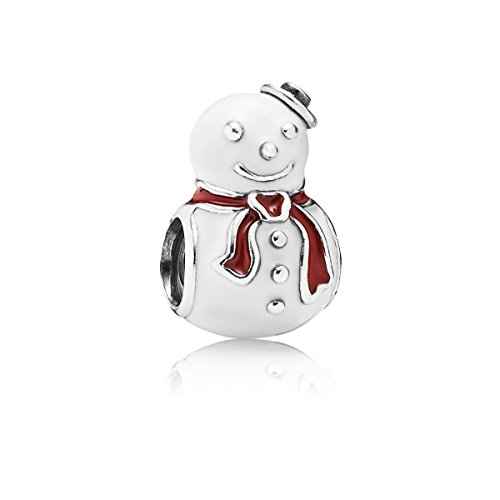 Pandora Snowman (Pandora 791406enmx Happy Snowman Charm)