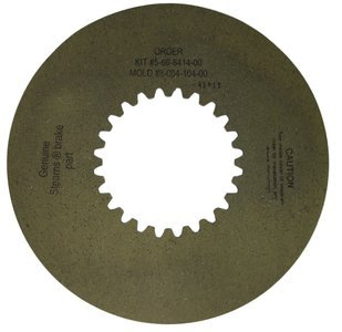 (Stearns Brake Friction Disc (8-004-104-00) Replacement # 5-66-8414-00)