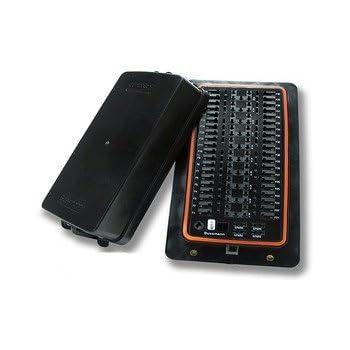 amazon com cooper bussmann 15303 4 0 4 fuse relay block mini bussmann 15401 2 0 1 0a rfrm panel dual bus bars cover included