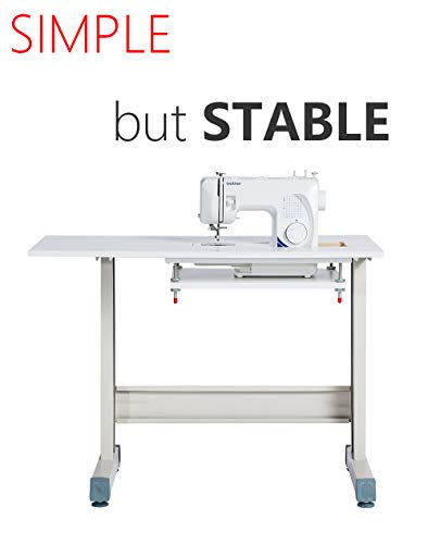 ISEW Sewing Table/Sewing Desk Craft Table Stable Strong