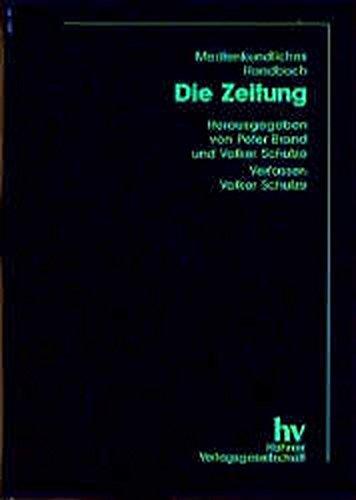 Medienkundliches Handbuch, Die Zeitung