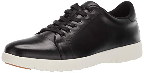 STACY ADAMS Men's Hawkins Cap-Toe Lace-Up Sneaker, Black 15 M US