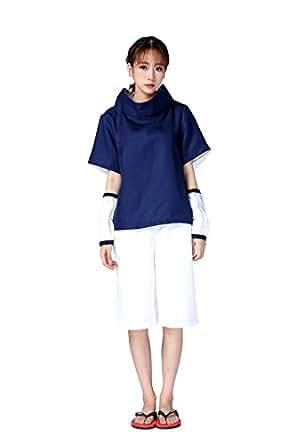 Naruto Cosplay Costume - Uchiha Sasuke 1st Kid Size Small