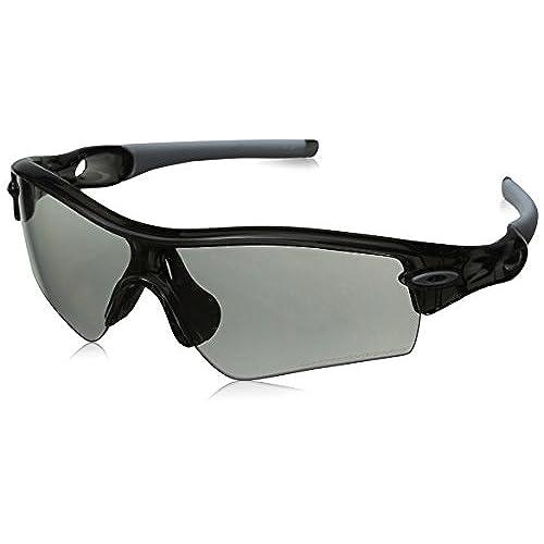 b214de0a2c8 ... coupon code for oakley mens radar path photochromic sport  sunglassesgrey smoke frame clear black lensone size