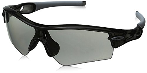 Oakley Men's Radar Path Photochromic Sport Sunglasses,Grey Smoke Frame/Clear Black Lens,one - Oakley Clear Radar