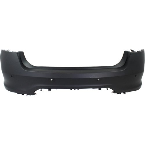 (Rear Bumper Cover Compatible with FORD TAURUS 2010-2012 Primed with Push Button Start)