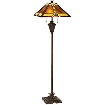 Mission French Bronze Floor Lamp by Robert Louis Tiffany