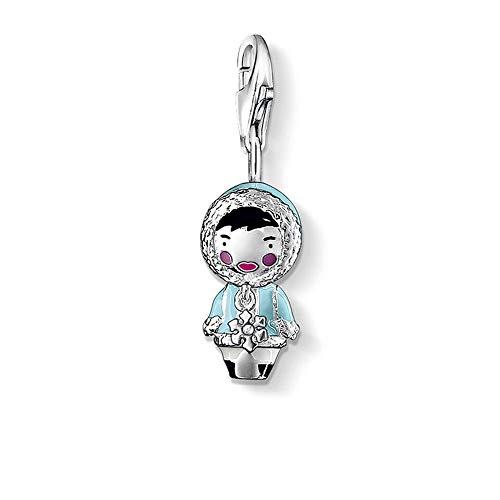 925 Pendant For Men Handmade Silver - Charm Pendant Eskimo Doll Jewelry 925 Skull Pendant Sterling Silver Vintage - Silver Pendant Unique Special Jewelry Gift For Men Girl Women Boy Girls -