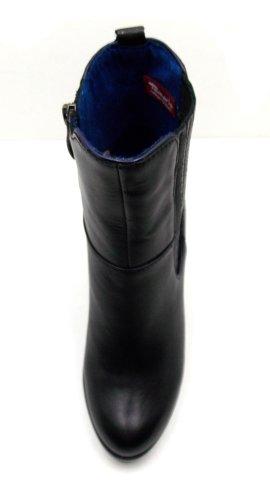 Tamaris - Stivaletti - 1-25072-39 Nero / blu reale