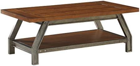 Homelegance 48 x 28 Coffee Table, Brown