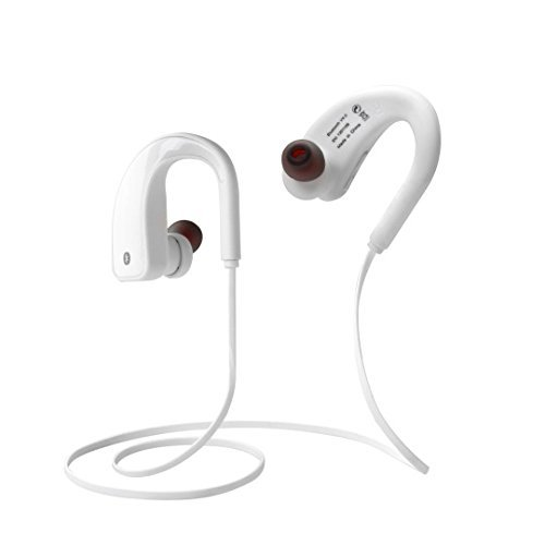 GOWE Rights(Private Mould) Bluetooth 2-Channel Stere Earphone Headset Wireless Headphones,Call duration:6.8 hours Support one driving two bluetooth devices Voice control of YES/NO answer (Stereo Gowe)