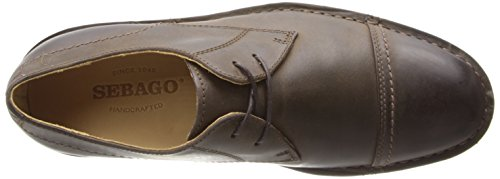 Cap Toe Metro Dark Men's Sebago Brown RqOE77