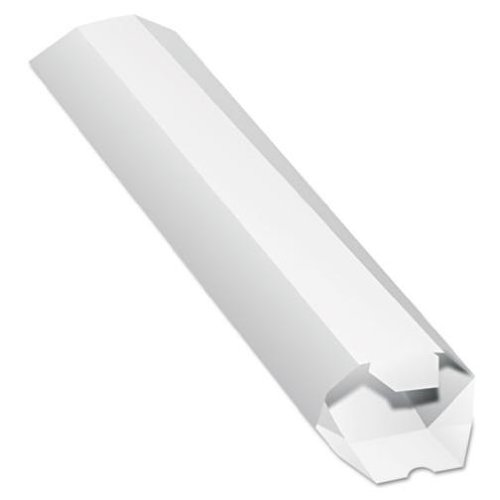 Quality Park Expand-On-Demand Mailing Tubes, 2 X 24-Inch, White, 1 Tube (46009)