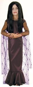 Morticia From The Addams Family Costumes (Morticia - Addam's Family Kids Costume Medium 8-10/ 10)
