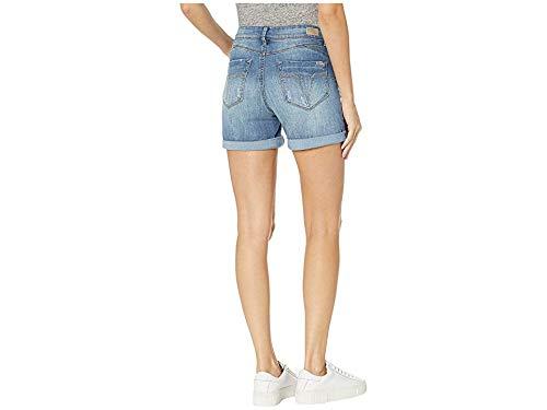 8c8b734919b Women s Booty Shaper Roll Cuff Denim Jeans Shorts - Denim Fit
