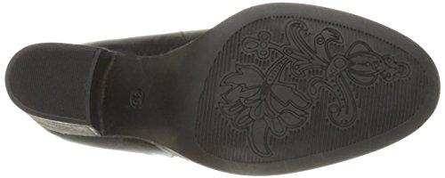 Bos. & Co. Kvinna Belfieding Fotled Toffeln Svart Miami Läder