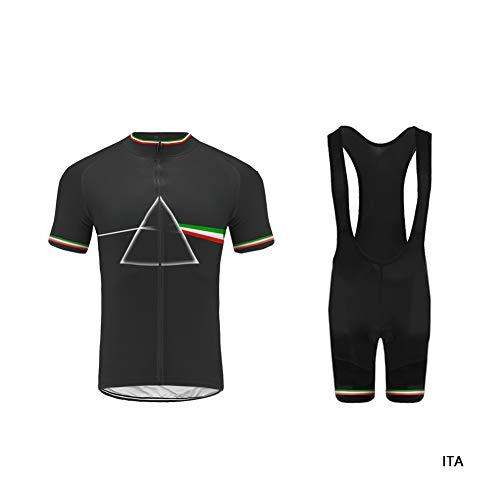 outlet store a8c4a 4a6e3 Uglyfrog Mens Cycling Jersey, Short Sleeve, Full Zipper, Summer,  Lightweight,Bib