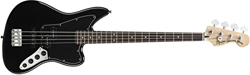 Squier by Fender Vintage Modified Jaguar Bass Special, Rosewood Fingerboard, Black