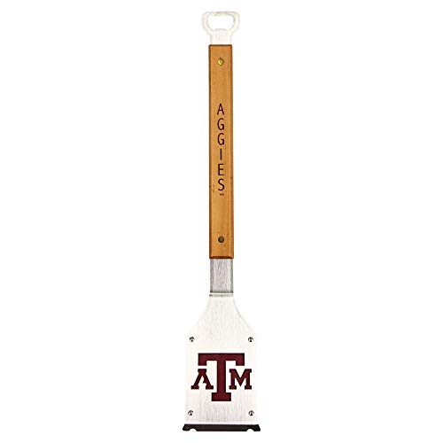 (Products Sportula NCAA BBQ Grill Accessories 3-in-1 Brush, Scraper, Bottle Opener (Texas A&M Aggies))