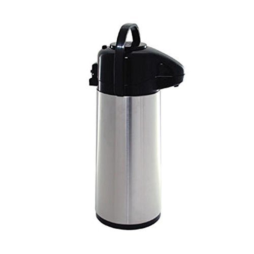 Coffee Flask (Update International (NVAP-22BK) 2.2 L Stainless Steel Val-U-Air Push-Button Air Pot)